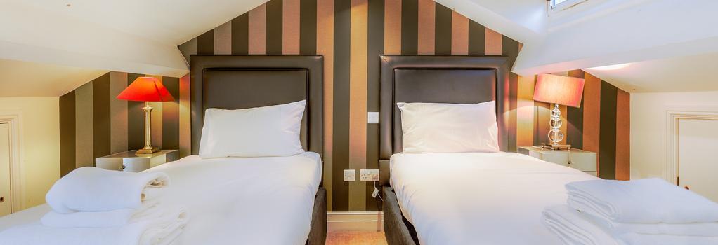 더 탑햄스 빅토리아 호텔 - 런던 - 침실