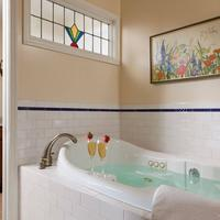 Cornerstone Bed & Breakfast Deep Soaking Bathtub