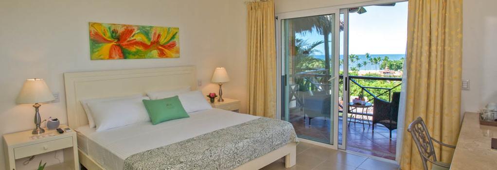 자르딘 델 에덴 호텔 - 타마린도 - 침실
