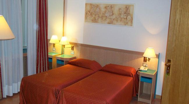 플라비아 호텔 - 로마 - 침실