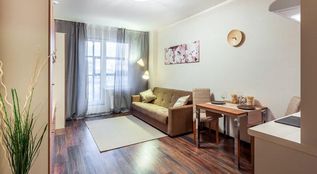 Prima Apart Hotel - 상트페테르부르크 - 침실