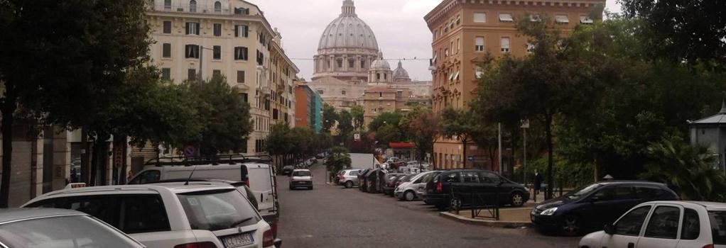 Bed and Breakfast La Stazione del Vaticano - 로마 - 야외뷰