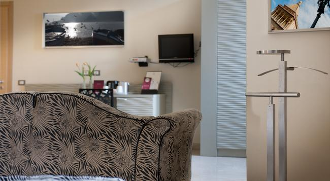 호텔 가르발디 - 팔레르모 - 침실