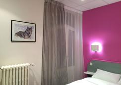Hôtel Escurial - 메스 - 침실