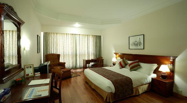 호텔 포카라 그랜드 - 포카라 - 침실