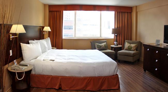 호텔 에스프레소 몬트리올 센터-빌 / 다운타운 - 몬트리올 - 침실