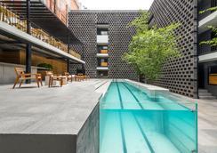 Hotel Carlota - 멕시코시티 - 수영장