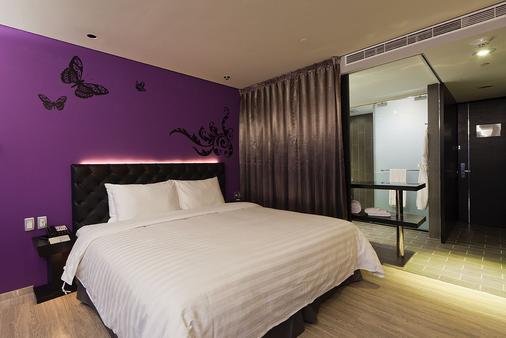 FX 호텔 타이베이 난징 이스트 로드 브랜치 - 타이베이 - 침실