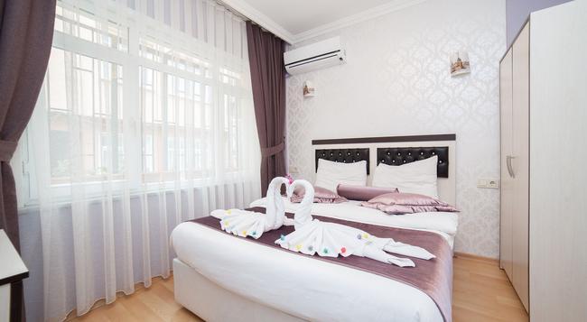 Bright Apart Hotel - 이스탄불 - 침실