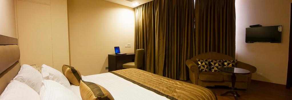 호텔 아우라 @ 공항 - 뉴델리 - 침실