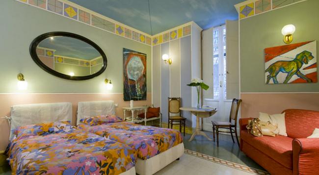 호텔 에모나 아쿠아에둑투스 - 로마 - 침실