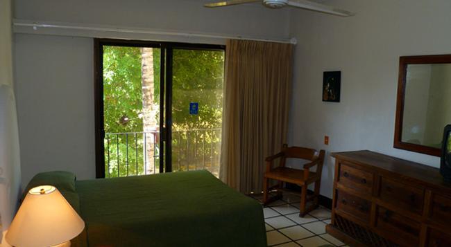 Puerto de Luna All Suites Hotel - 푸에르토바야르타 - 침실