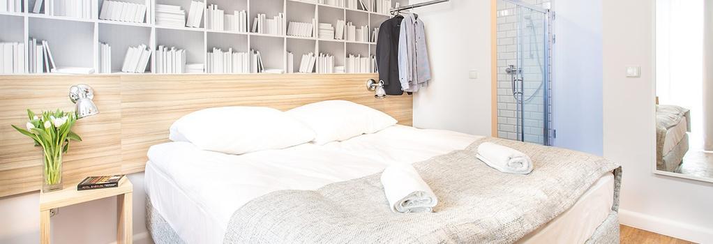 Smart Hotel - 그단스크 - 침실