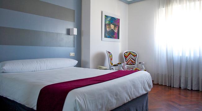 Hotel Vigo Plaza - 비고 - 침실