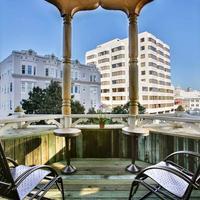 페인 맨션 호텔 Balcony