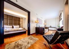 콘티넨탈 호텔 - 부다페스트 - 침실