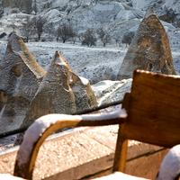CCR 카파도키아 케이브 리조트 앤 스파 Winter Scenery fom CCR Hotels
