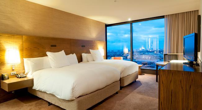 힐튼 멜버른 사우스 와프 호텔 - 멜버른 - 침실