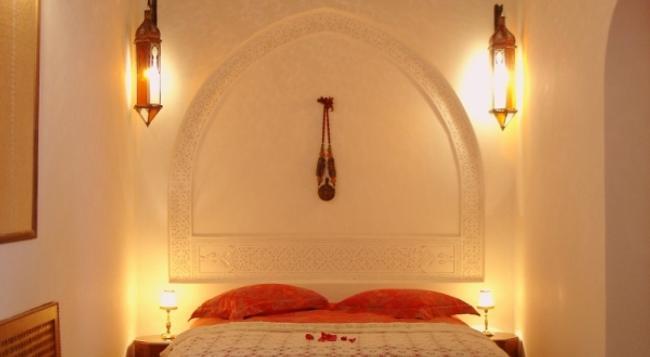 Riad Dar Alhambra - 마라케시 - 침실