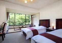 토우노사와 쿠아트리 사이슨 호텔 - 하코네 - 침실