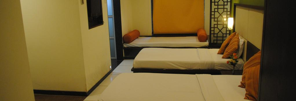 GCC 호텔 앤 클럽 - 뭄바이 - 침실