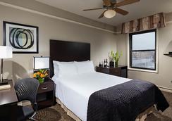시티 스위트 호텔 - 시카고 - 침실