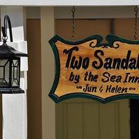 Two Sandals by the Sea Inn - B&B Exterior detail