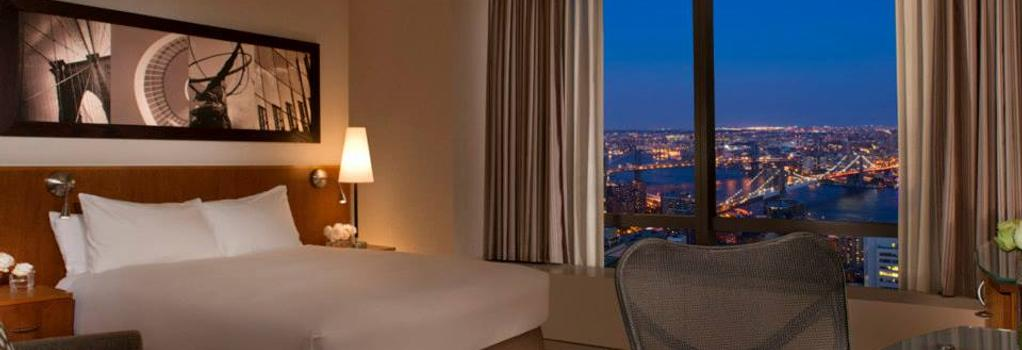 밀레니엄 힐튼 호텔 - 뉴욕 - 침실