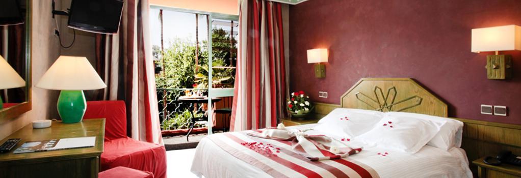 Hôtel Chems - 마라케시 - 침실