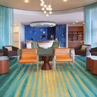 SpringHill Suites by Marriott Salt Lake City Airport Lobby