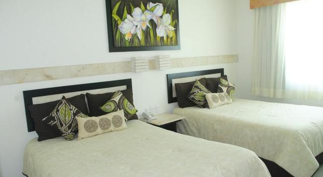 Hotel Tulijá Express Palenque - 팔렝케 - 침실
