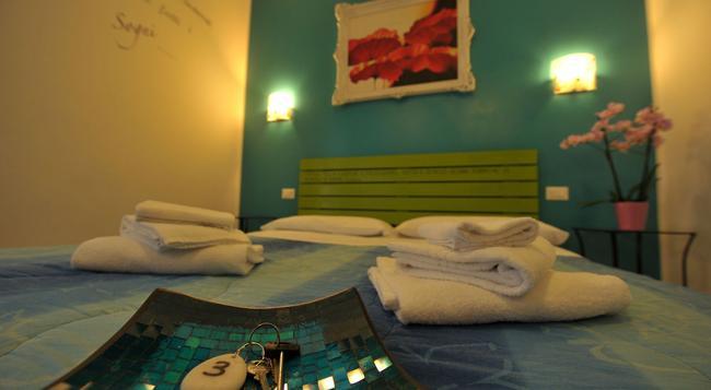 B&B Casa Der Poeta - 로마 - 침실
