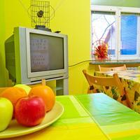 Happy Hostel В с распоряжении гостей хостела кухня со всем необходимым оборудованием и оснащением
