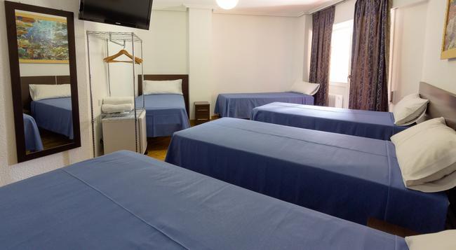 Pensión Laurel - 로그로뇨 - 침실