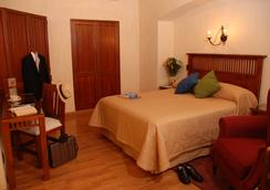 Hotel Casa Antigua - 와하카 - 침실