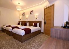런던 킹 호텔 - 런던 - 침실