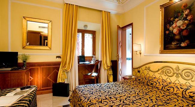 컴포트 인 - 호텔 볼리바르 - 로마 - 침실