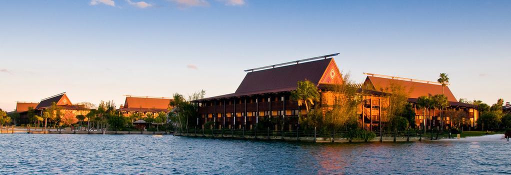 Disney's Polynesian Resort - 레이크부에나비스타 - 건물