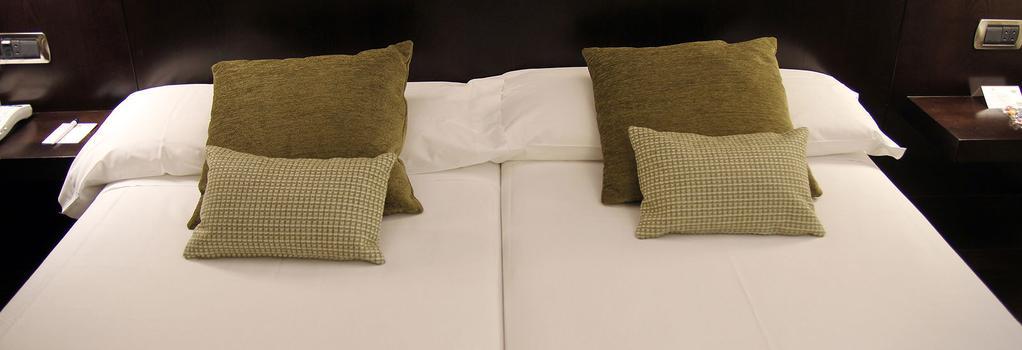 Hotel Conde Duque Bilbao - 빌바오 - 침실