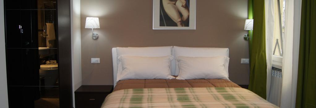 미아 스위트 - 로마 - 침실