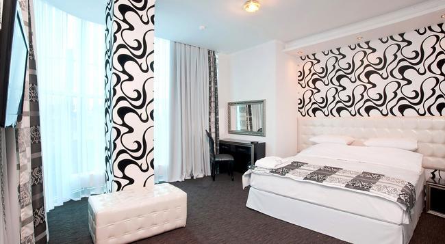 메로텔 호텔 - 크라스노다르 - 침실
