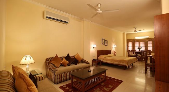 에어포트 호텔 - 뉴델리 - 침실