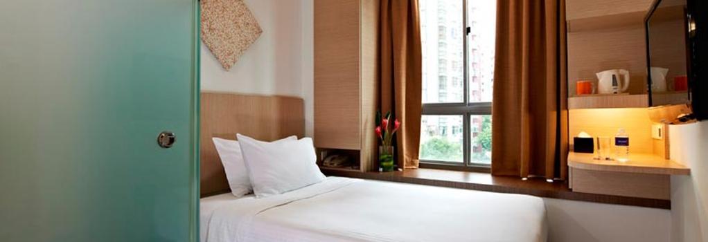애퀸 호텔 발레스티에르 - 싱가포르 - 침실