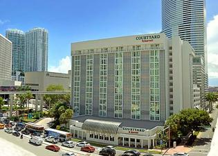 Courtyard by Marriott Miami Downtown Brickell Area
