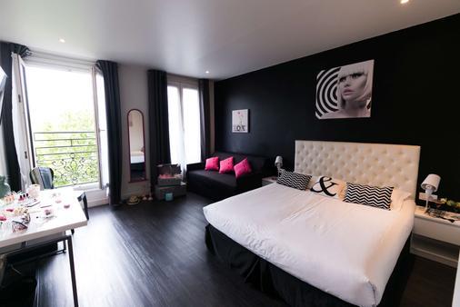 이데알 호텔 디자인 - 파리 - 침실