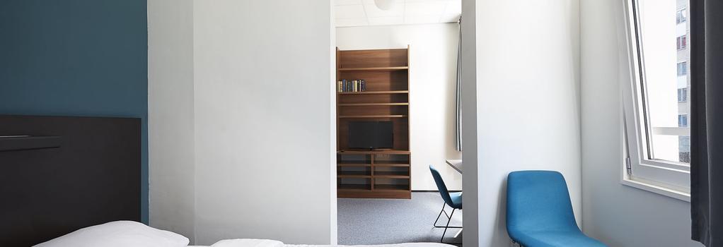 더 스튜던트 호텔 로테르담 - 로테르담 - 침실