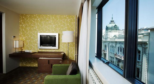 Belgrade Art Hotel - 베오그라드 - 침실