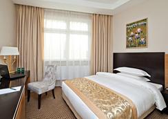 얼라이언스 그린우드 호텔 - 모스크바 - 침실