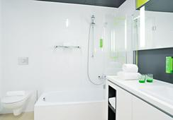 해리스 홈 뮌헨 호텔 & 아파트먼츠 - 뮌헨 - 욕실