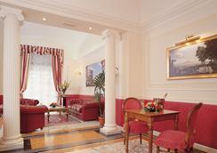호텔 콘틸라 - 로마 - 로비
